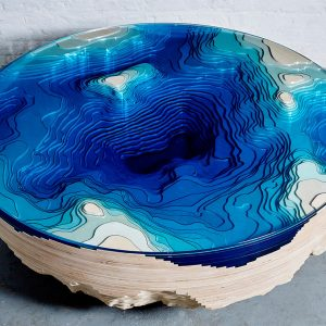 A Coffee Table That Lets You Stare into the Depths of the Ocean