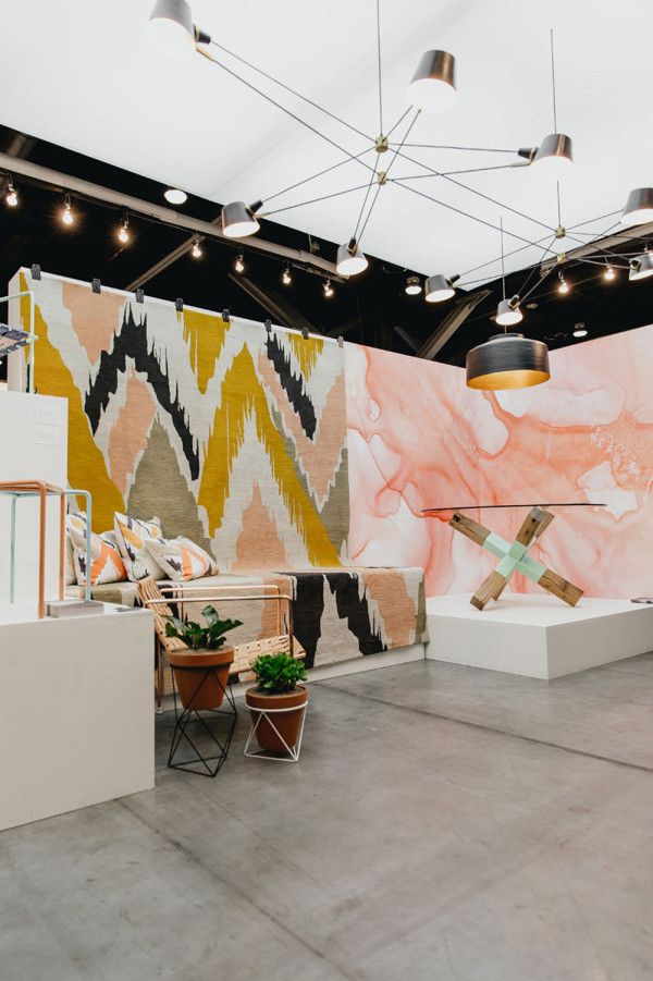 Last year's LA Exchange, curated by Design Milk with works from Wolfum, Brendan Ravenhill, Bend Goods, Eric Trine, Black Crow Studios, and Jory Brigham, with a space design by Falken Reynolds.
