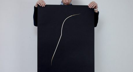 The Poster Child for Luxe Minimalism: The Thin Gold Line