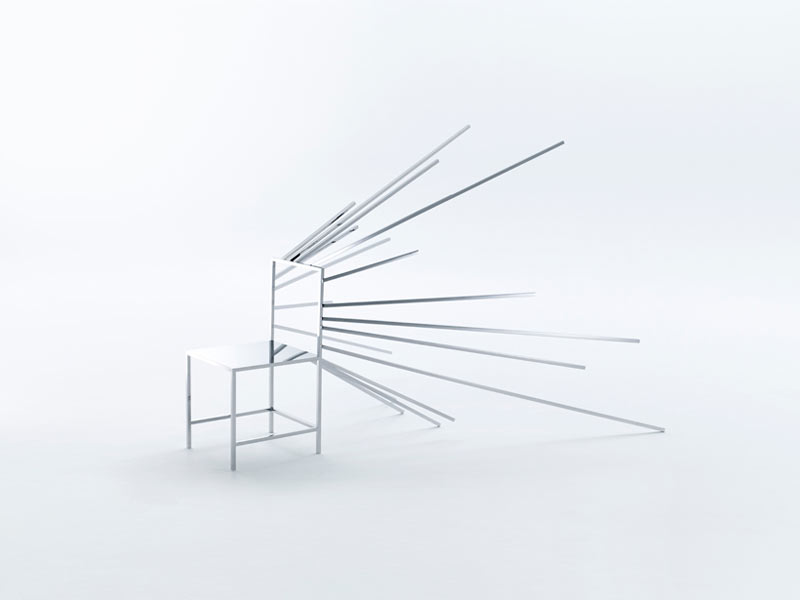 Gentil 50 Manga Chairs From Nendo ...