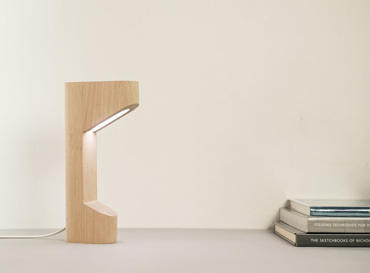 Alfredo Lamp by Saif Faisal