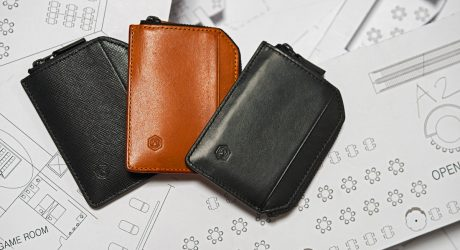 Capsule's New Sophisticated Minimal Wallet and Passport Holder