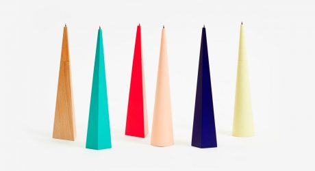Geometric Pens That Stand Up
