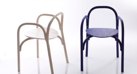 Brace Chair by Samuel Wilkinson