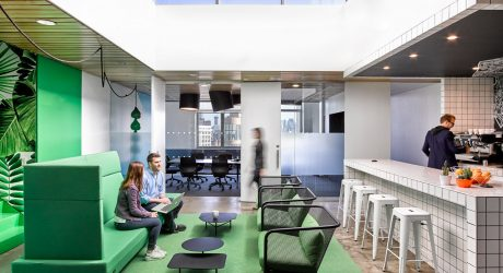 Colorful Office Renovation by Ghislaine Viñas