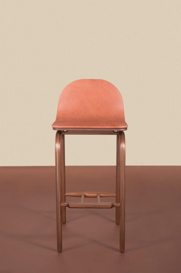minimalist furniture. fin high stool minimalist furniture