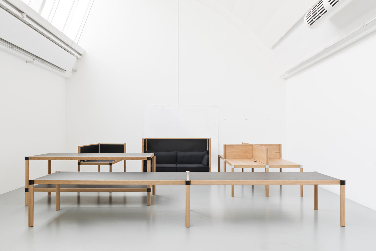 Cyl a new system to create office landscapes design milk for Vitra aktion 2016