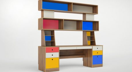 An Artist-Inspired Desk That Lasts From Childhood to Adulthood