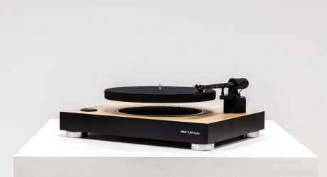 MAG-LEV Audio Levitating Turntable Is An Uplifting Concept
