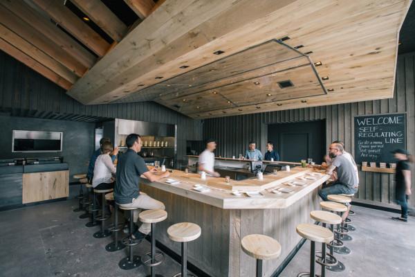 Marmol Radziner Rolls With a Warm Wood Interior Inside KazuNori