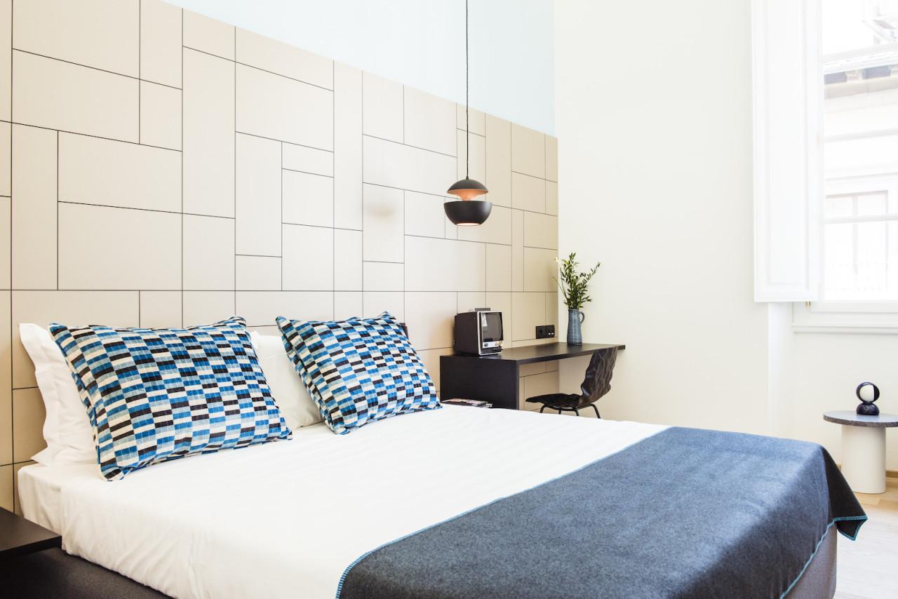 Modern Hotel Rooms the milu: a modern hotel in classic florence - design milk