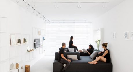 A Minimalist, Monochromatic Apartment in Tel Aviv
