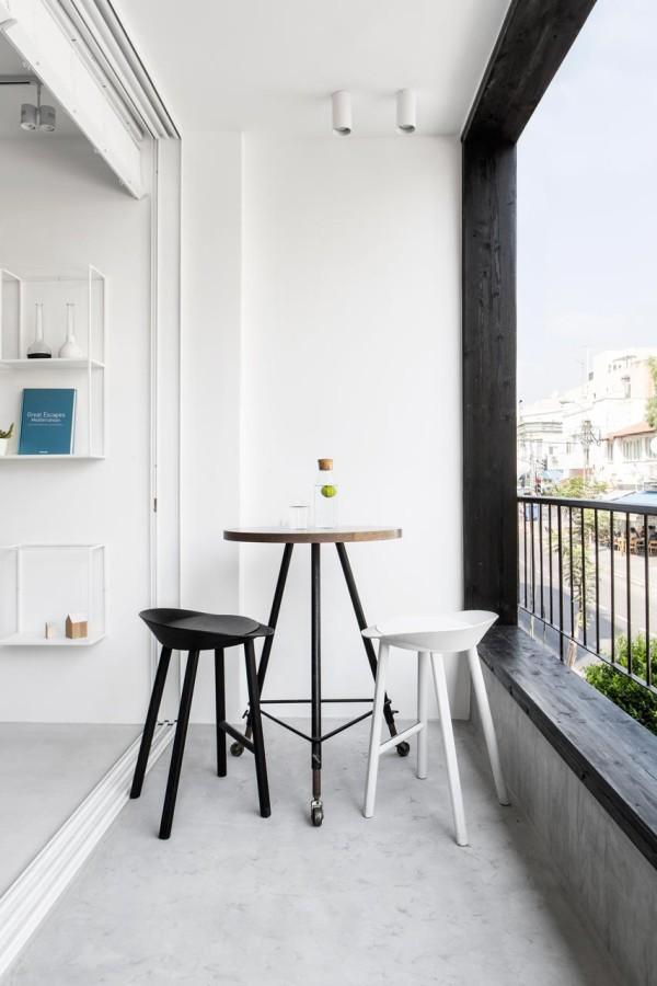 Minimalist apartment tel aviv yael perry 20