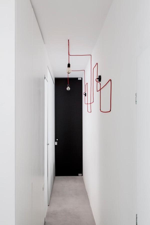 A Minimalist, Monochromatic Apartment in Tel Aviv - Design Milk
