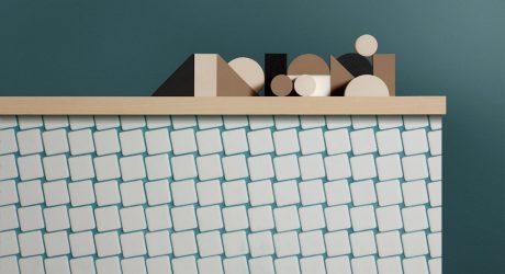 Mosaic Tile Inspired by Gestalt Psychology