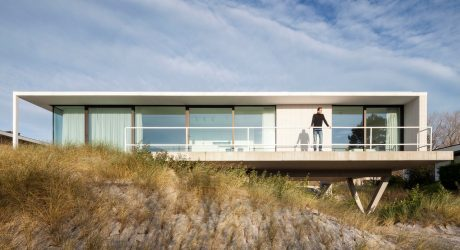 A Belgian Seaside Villa by OOA