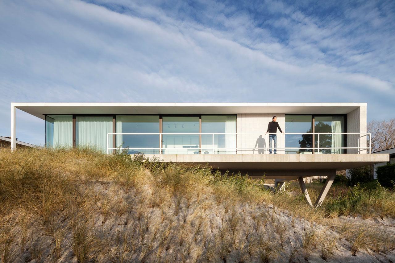 A Belgian Seaside Villa by OOA