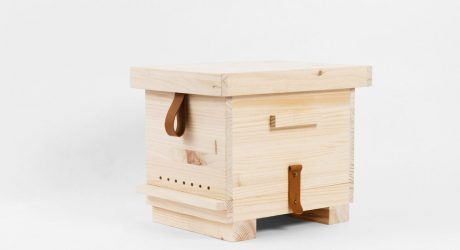 PUPA: A Wooden Beehive by Octavio Barrera