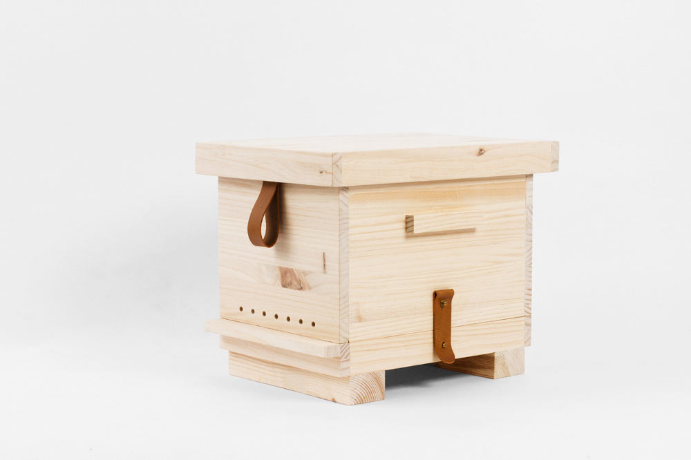 PUPA: A Wooden Beehive by Octavio Barrera