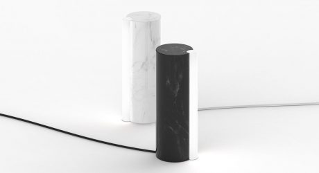SATELLITE: A Minimal, Marble Lamp