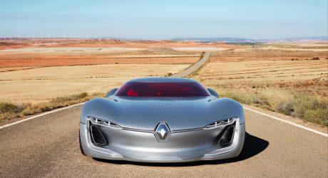 The Renault TREZOR Electric Coupé Concept
