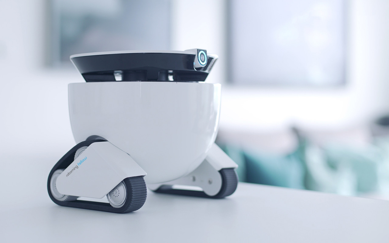 The Roboming Fellow Is A Personal Robot Friend Design Milk