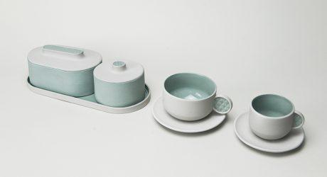 The Button Collection: Tactual Tea Tableware