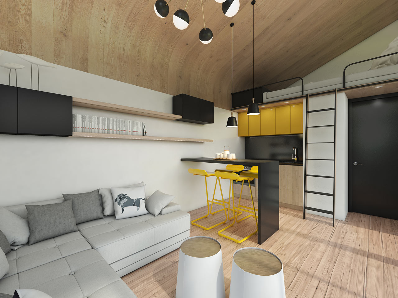 Salt & Water's Portable Tiny House Concept