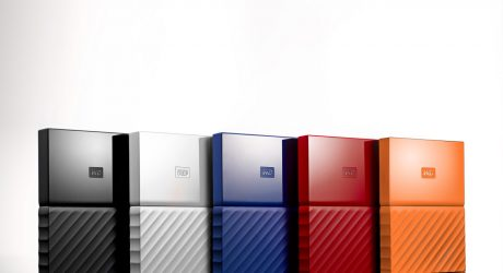 Yves Béhar Redesigns Western Digital's My Passport Drives