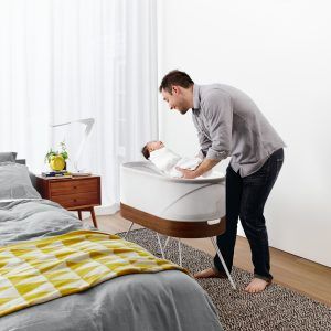 Smart Baby Bed will Rock Your Baby Back to Sleep