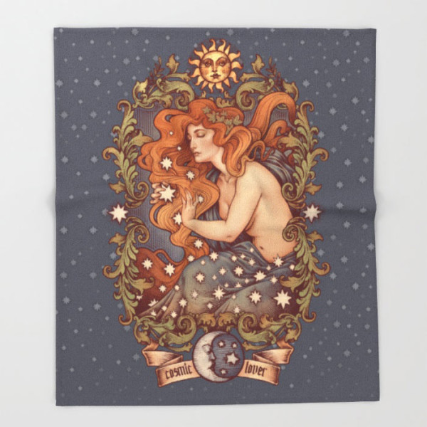 cosmic-lover-color-version-throw-blanket