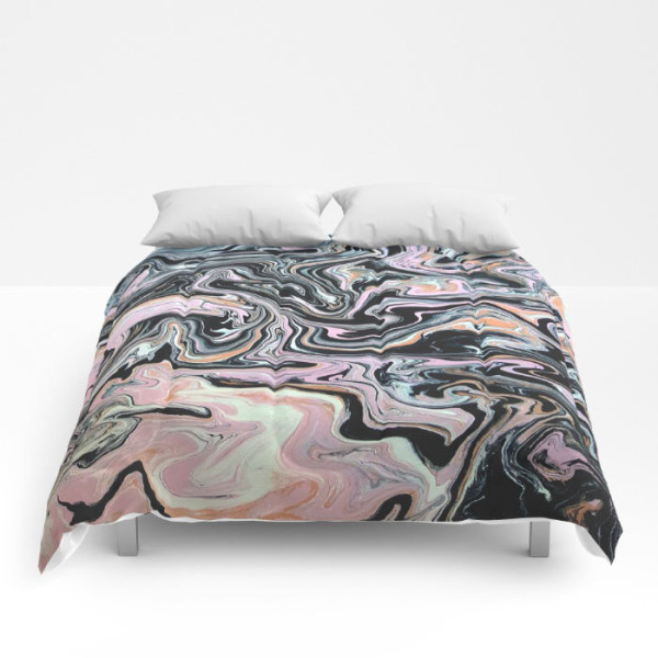 Society6 introduces comforters design milk have a little swirl comforter gumiabroncs Choice Image