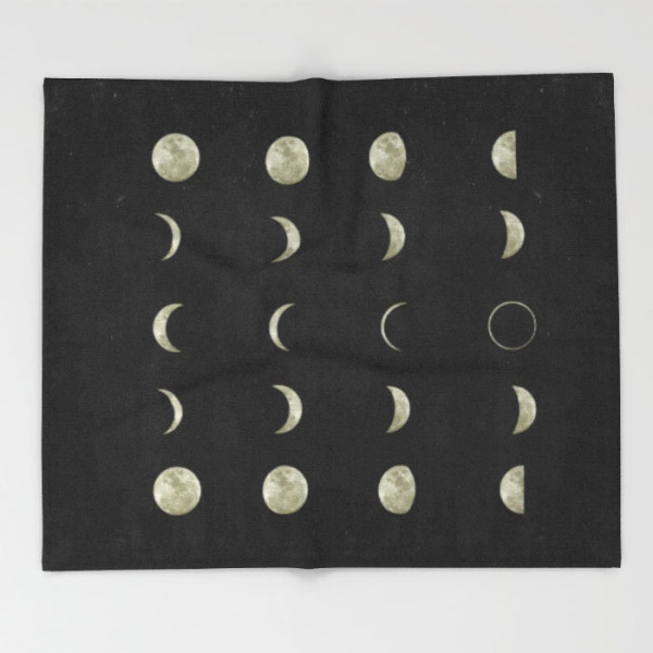 moon-phases-throw-blankets
