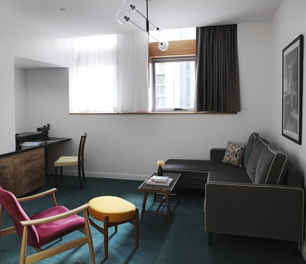 Old clare hotel blends modern heritage design design milk for 10 room hotel design
