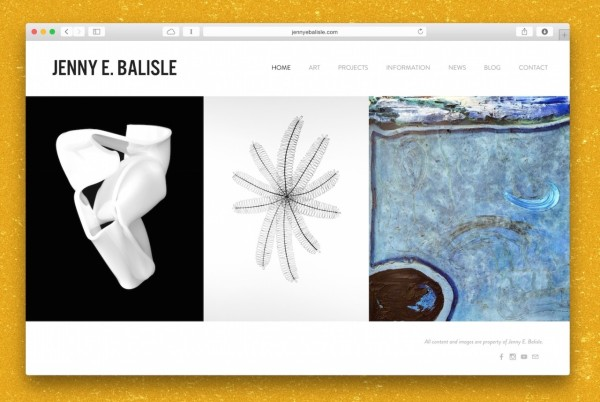 Site created by Lovably for Jenny E. Balisle