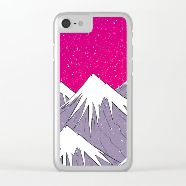 the-mountains-and-the-snow-clear-phone-case