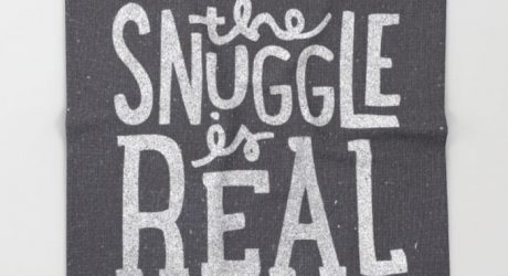 The Snuggle is Real: 10 Blankets For Snuggling from Society6