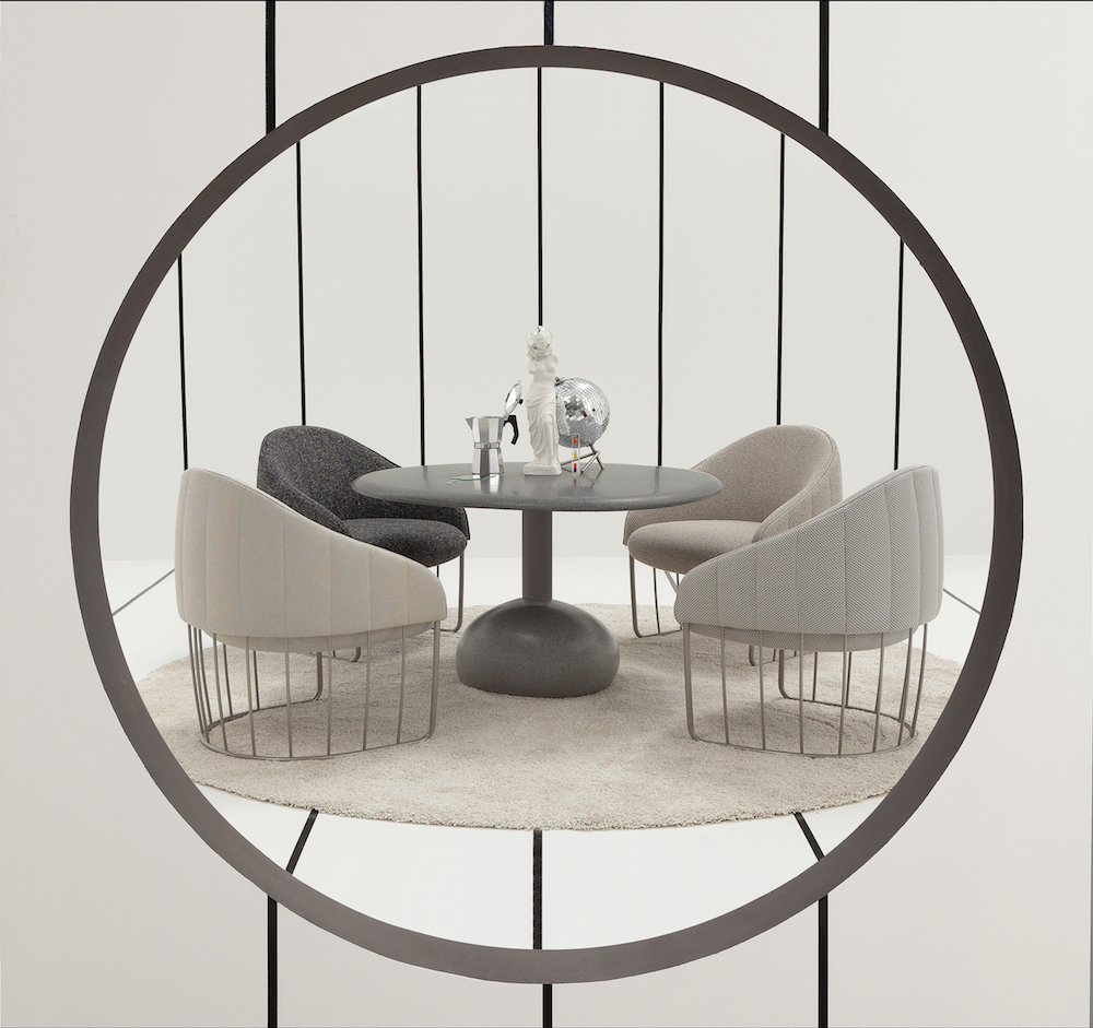 modern seating from sancal with an th century lineage  design milk - modern seating from sancal with an th century lineage