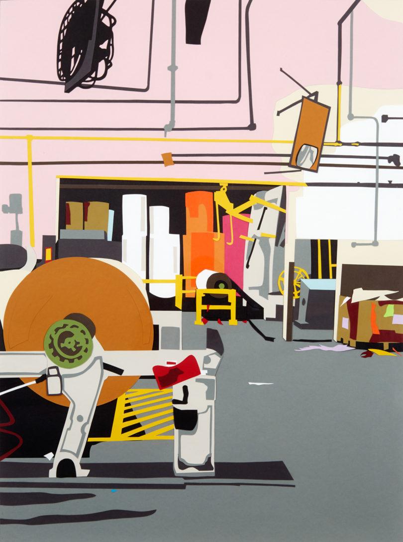Rock, Paper, Scissors: An Evolution in Work by Michael Hambouz