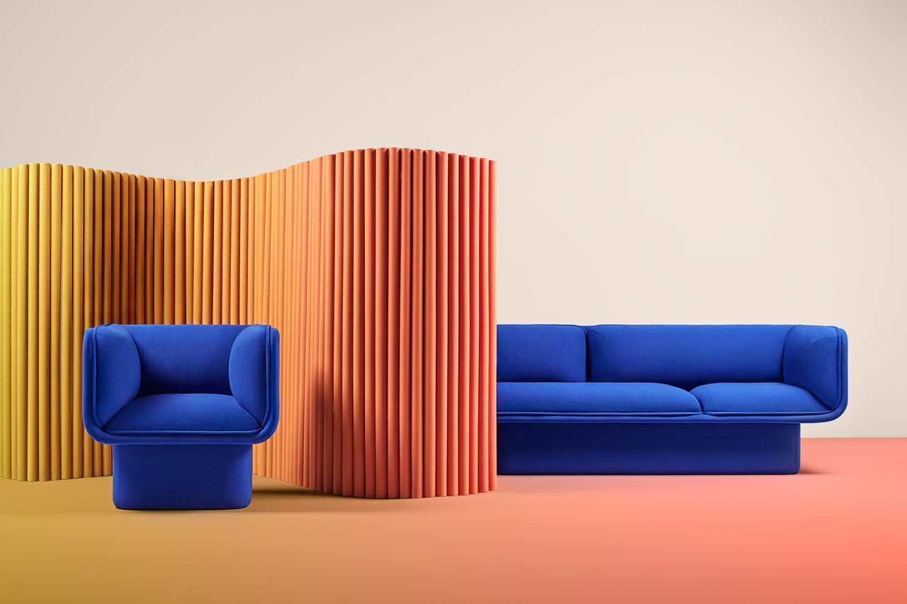 Chunky, Block-Like Sofas by MUT Design