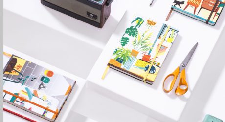 Illustrators Join together To Create Bookblock Notebooks