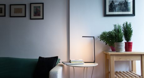 A Minimal Lamp Inspired By A Single Line