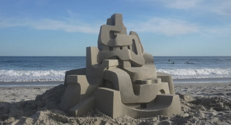 Jaw-Dropping Modernist Sandcastles by Calvin Seibert