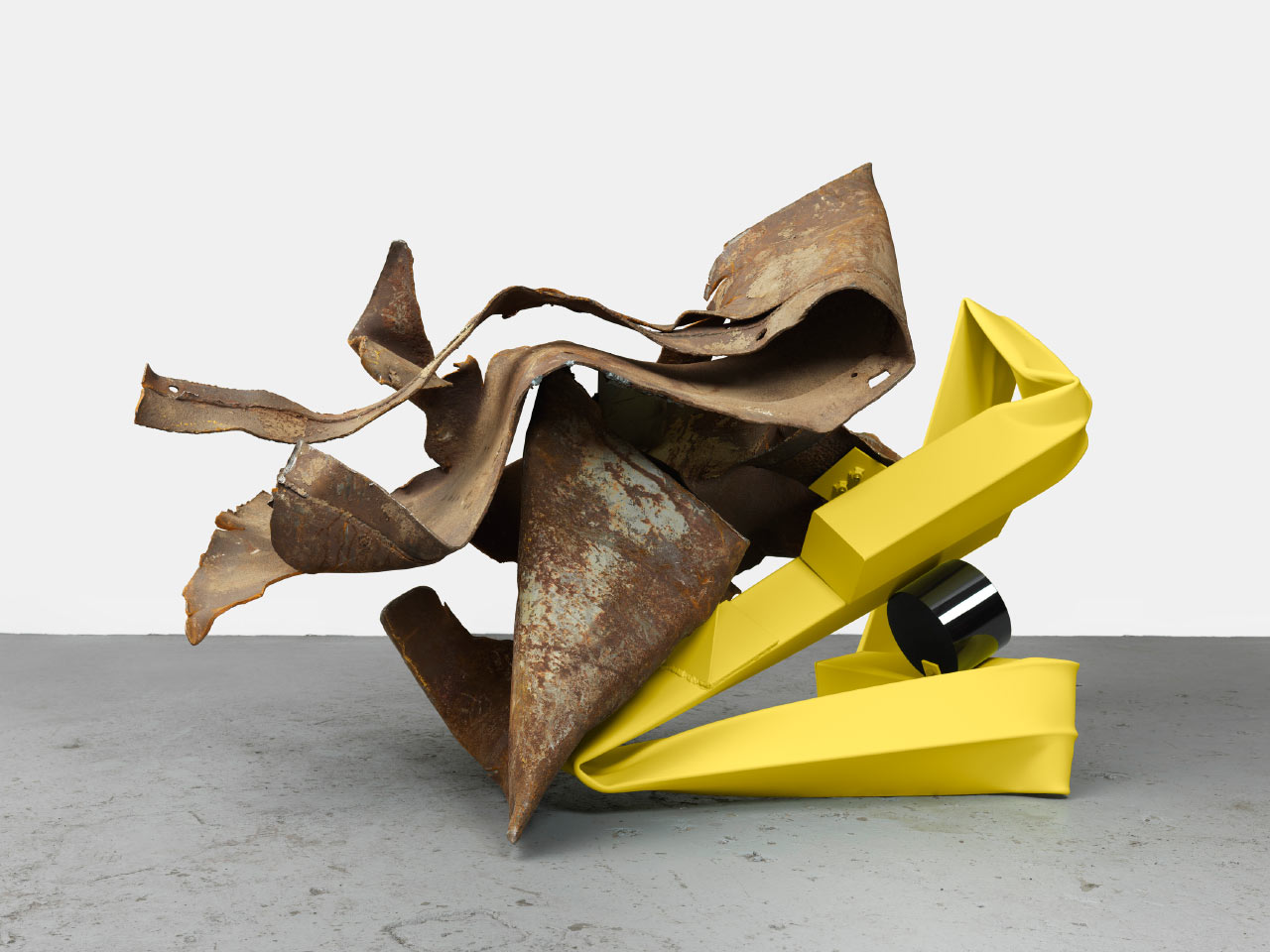 Crushed Harmony: The Sculpture of Carol Bove