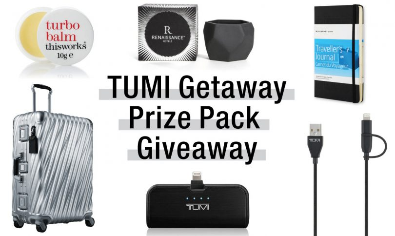 Giveaway: Huge TUMI Prize Pack Up for Grabs!
