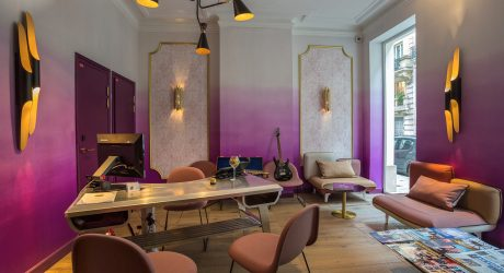 A Music-Inspired Boutique Hotel in Paris