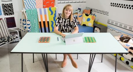 Surface Experiments: Ellen Van Dusen Explores Color + Pattern with Interactive Book
