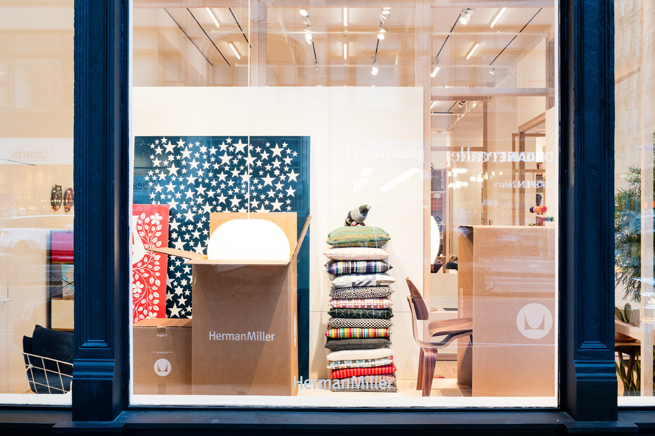 herman miller launches a flagship store in nyc  design milk - herman miller launches a flagship store in nyc