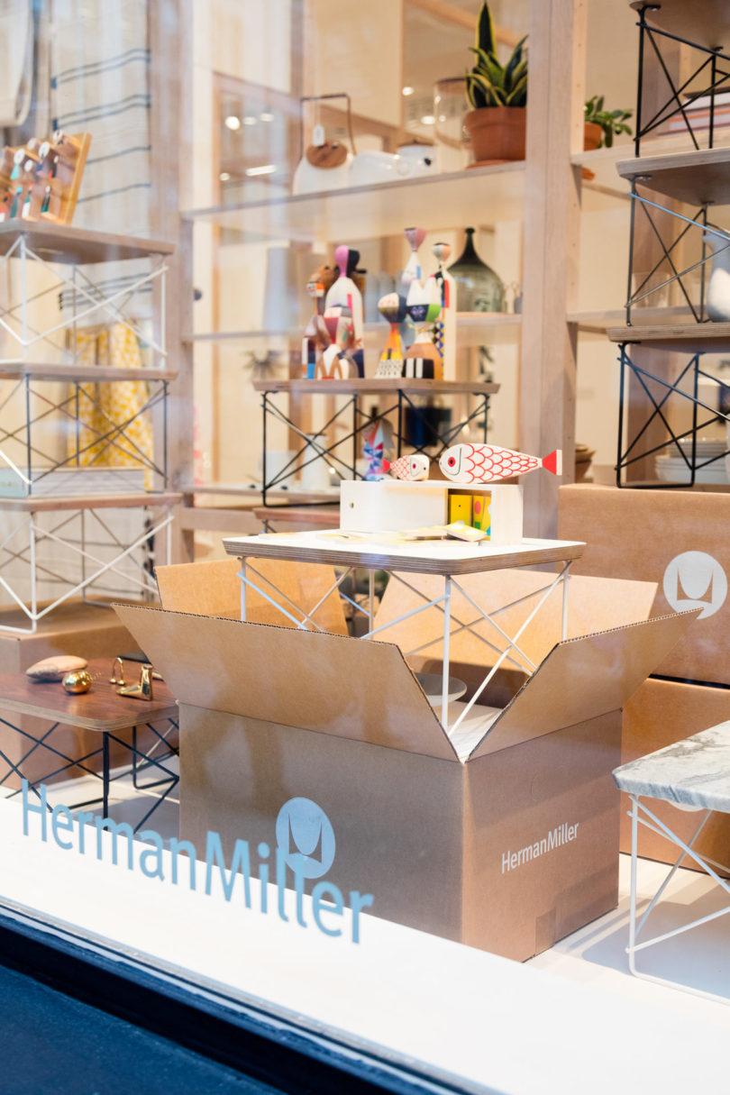 herman miller launches a flagship store in nyc  design milk - hermanmillerretailstore