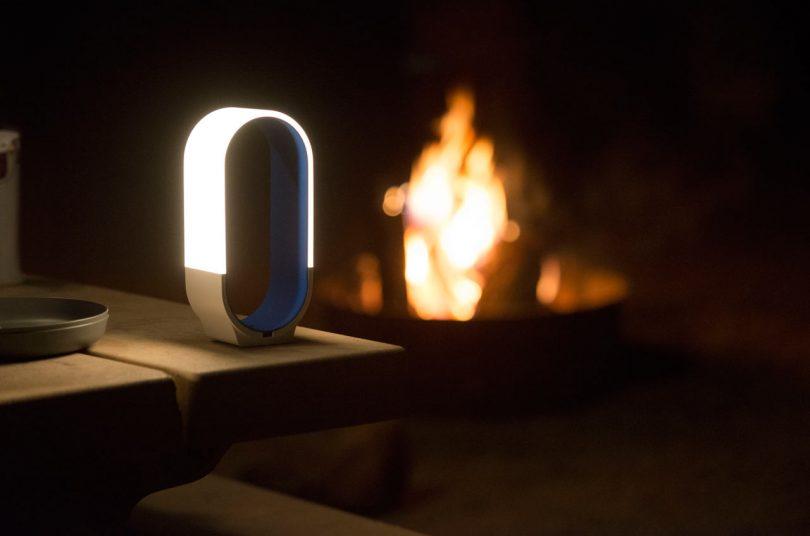 mr.GO!: A Portable, Cordless Outdoor LED Lantern